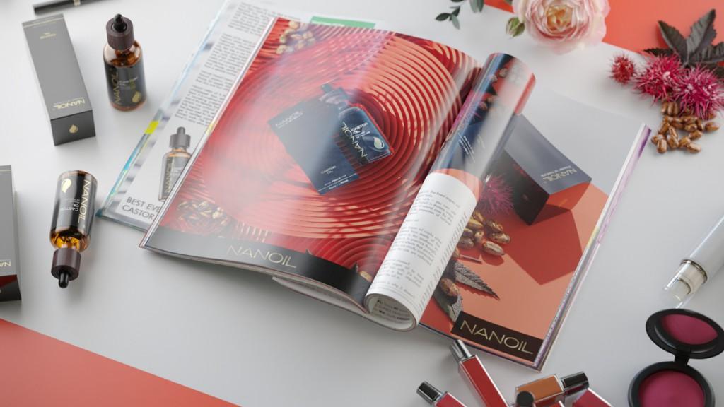 nanoil castor oil magazine
